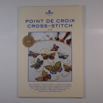 Point de Croix Cross-stitch nr 01 wzory, nowe numery DMC